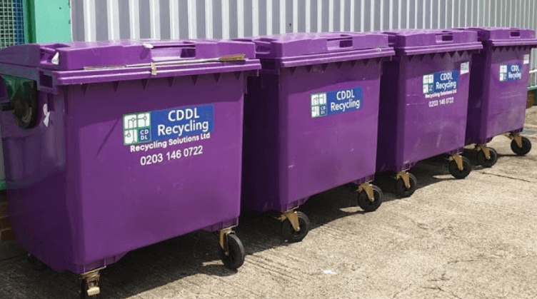 Commercial recycling Waste