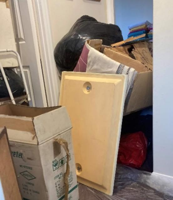 Clearing a loft